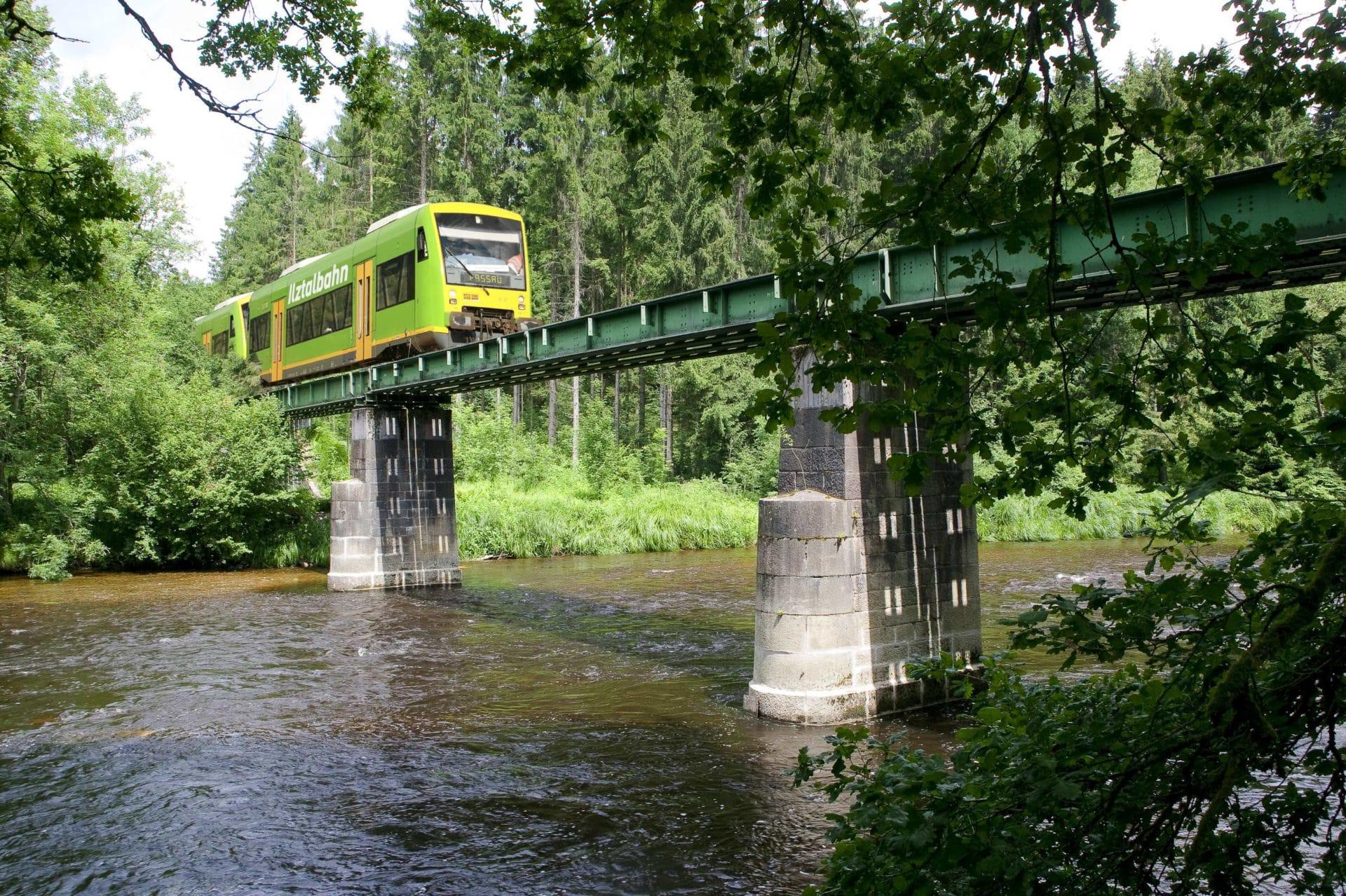 Ilztalbahn sieht Schieflage bei Nationalpark-Förderung - INNSIDE