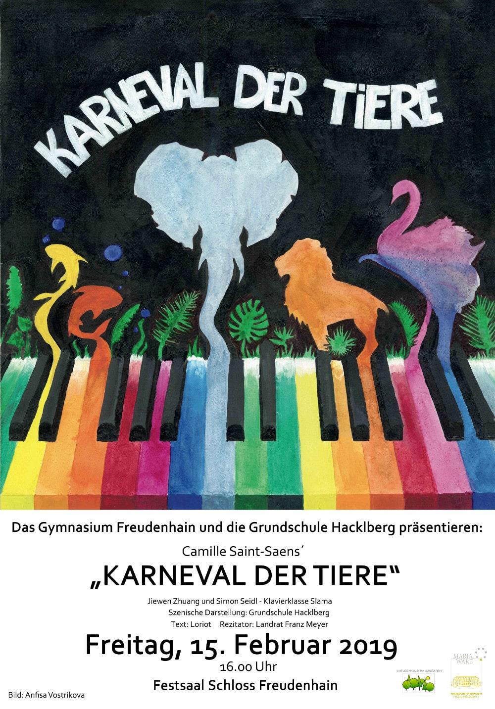 """karneval der tiere""  kinderkonzert  innside"